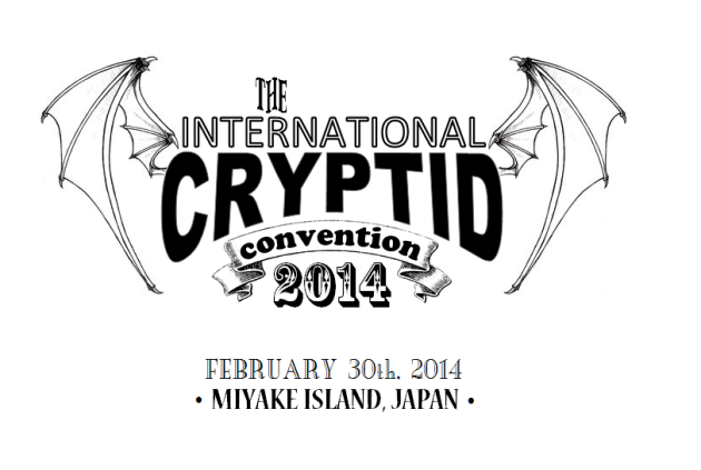 the International Cryptid Convention 2014