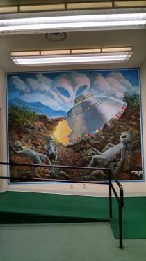 Roswell Mural