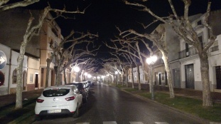 Villanueva at Night