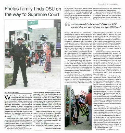 UWeekly - Phelps Phamily